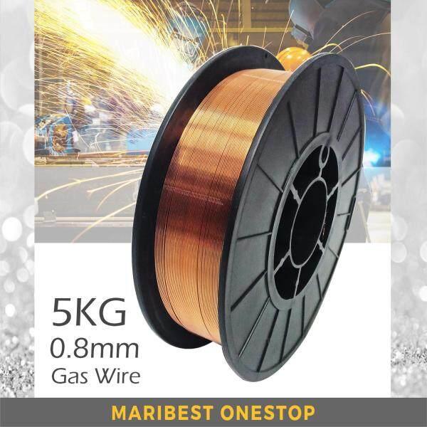 1 Roll 0.8mm Gas Flux-Cored MIG Welding Wire 5kg (Copper)