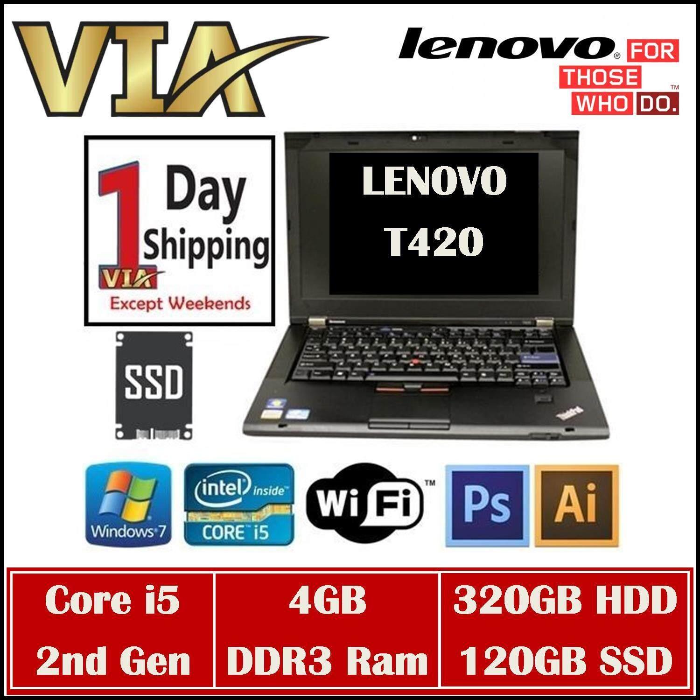 (FREE SHIPPING) LENOVO ThinkPad T420 Core i5~4Gb~320Gb HDD/120Gb SSD~W7 Pro Malaysia