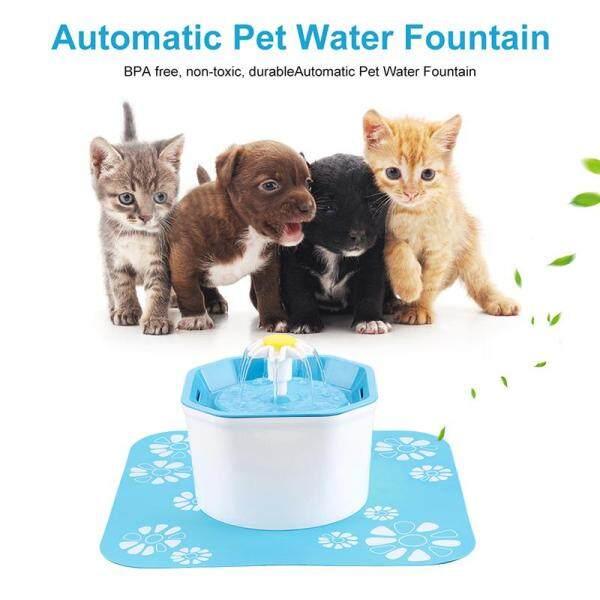 Gia Đình 1.6L Tự Động Chó Mèo Điện Đài Phun Nước USB Bát Ăn Cho Thú Cưng Lọc Uống