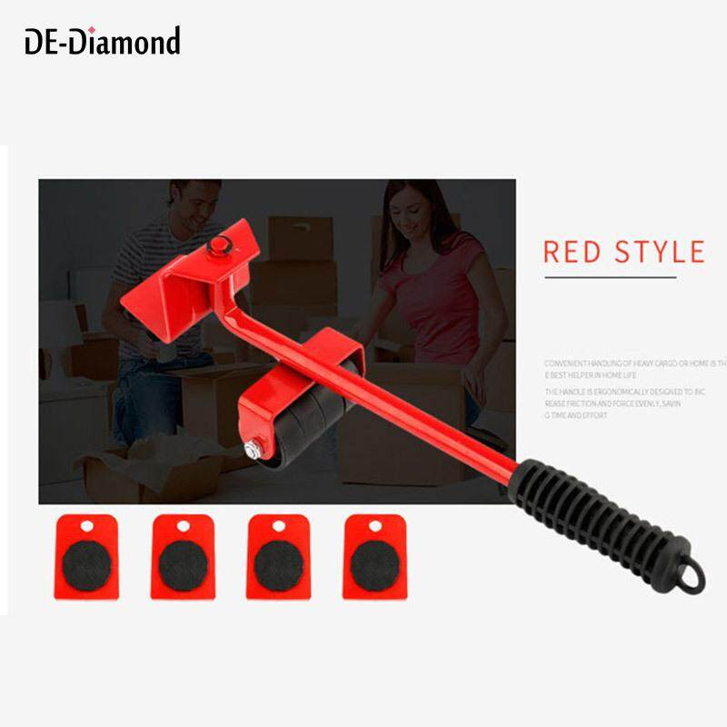 DE 5pcs Heavy Object Mover Set Portable Move Handling Tool for Furnitures Fish Tank