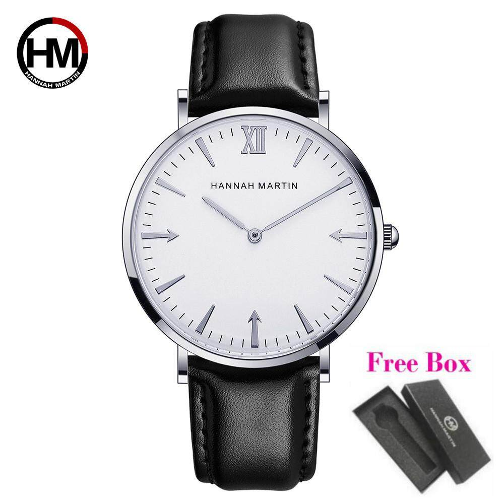 Hannah Martin Mens Watches Leather Quartz Watch JT Malaysia