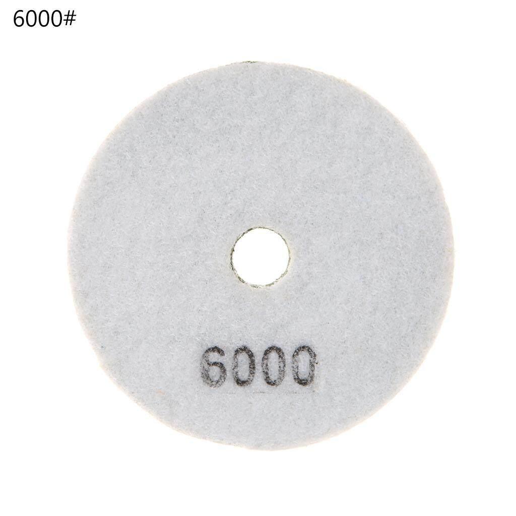 "Diamond Polishing Pad 4/"" Grinding Disc Granite Marble Concrete Stone 300#"