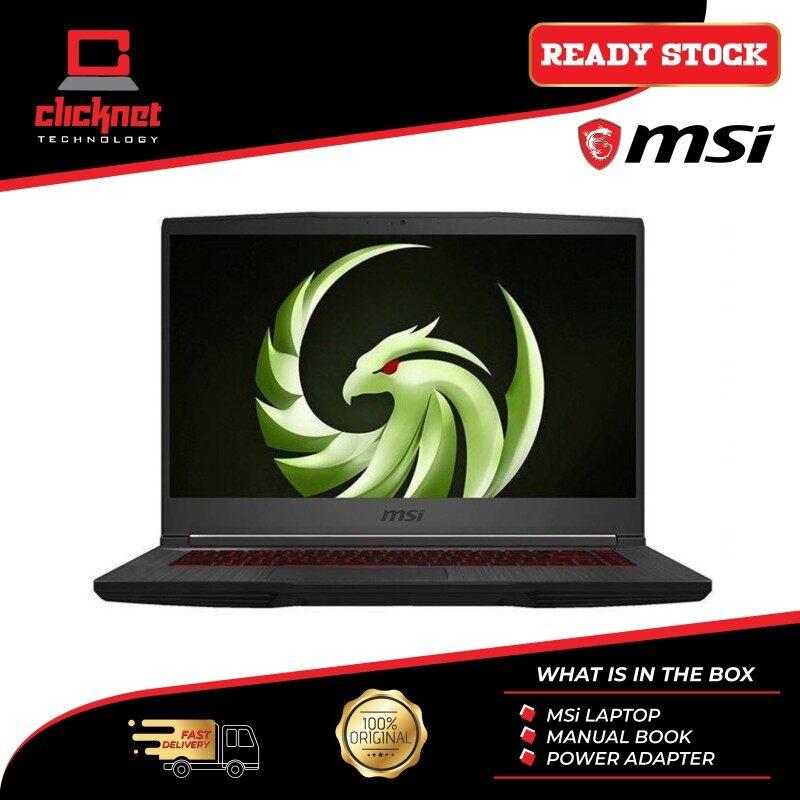 MSI BRAVO 15 A4DDR-411 15.6 FHD 144Hz GAMING LAPTOP R7-4800H 8GB 512GB SSD RX 5500M with 4GB GDDR6 W10 Malaysia