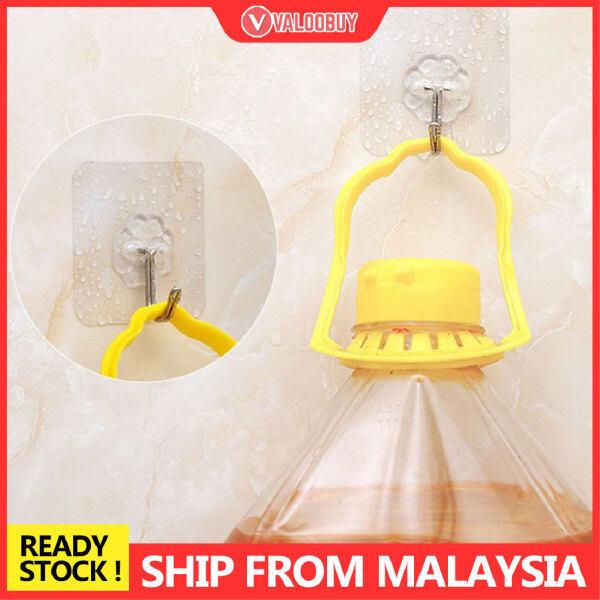 1PCS-Reusable Wall Hooks Strong Adhesive Magic Hook for Kitchen Bathroom Bedroom