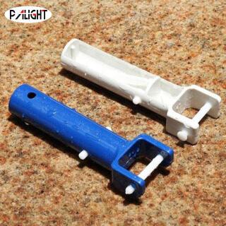 PAlight 2 Cái Tay Cầm Tay Cầm Đầu Chân Không Cho Bể Bơi Spa Thay Thế Thiết Bị Làm Sạch, Nước Thải Hút Phụ Kiện, Màu Xanh thumbnail