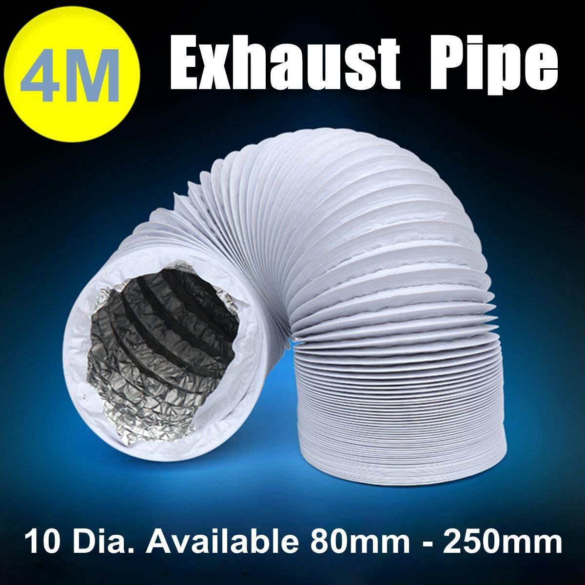 4m Flexible Air Conditioner Spare Parts Exhaust Pipe Vent Hose Outlet  125mm By Freebang.