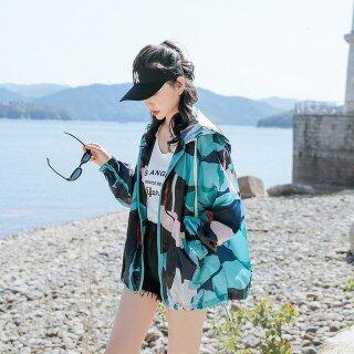 Penyamaran Matahari - Bukti Pakaian Wanita 2020 Musim Matahari Menyekat Baju Percutian Tepi Pantai Longgar Baju Warna thumbnail