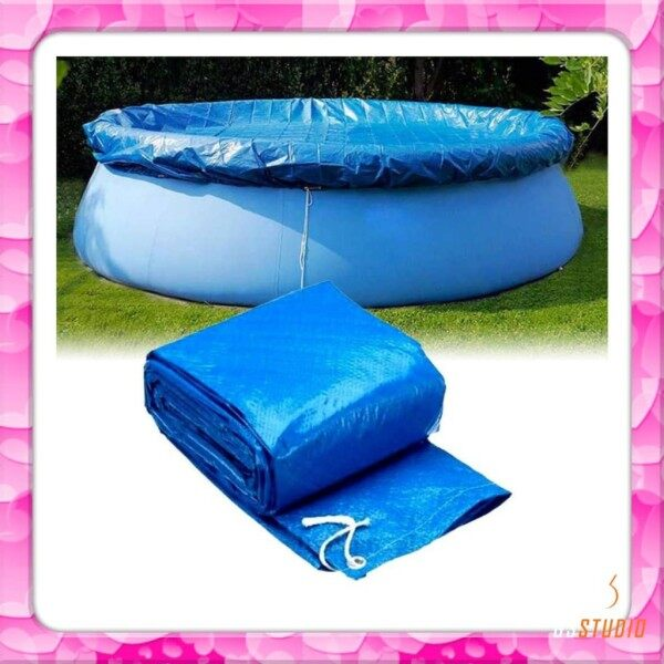 Swimming pool cover 6ft / 8ft / 10ft / 12ft winter cover round pool