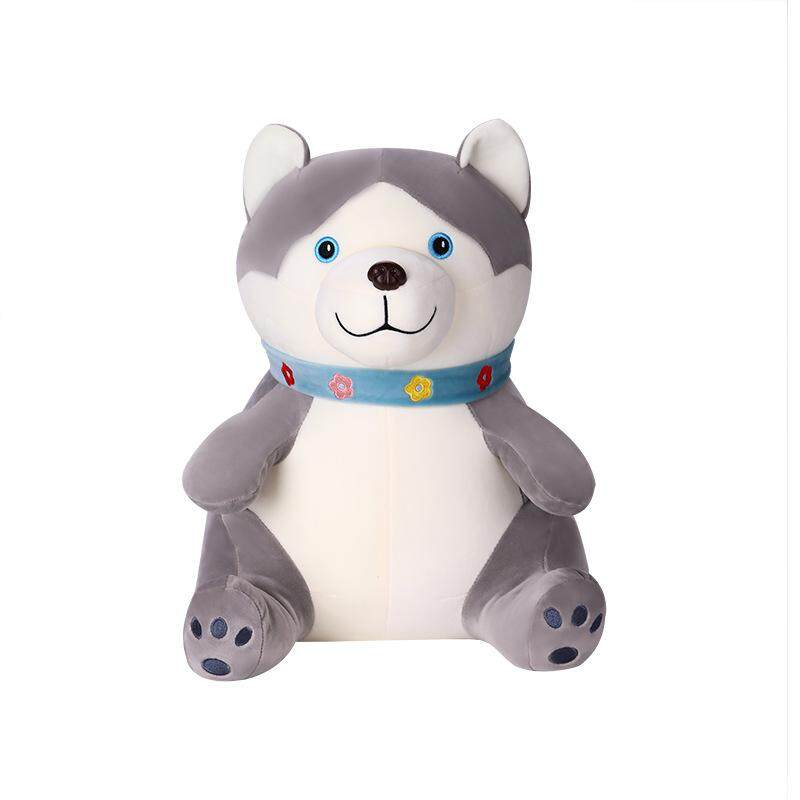 Plush Doll Soft Sleeping Cuddle Dog Lovely Shapi Shiba Inu Husky for Toddlers Infants and Babies Height:35cm (0.45kg)