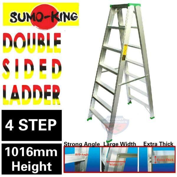 Sumo king 4 Steps Double Sided Aluminium Ladder Tangga Lipat