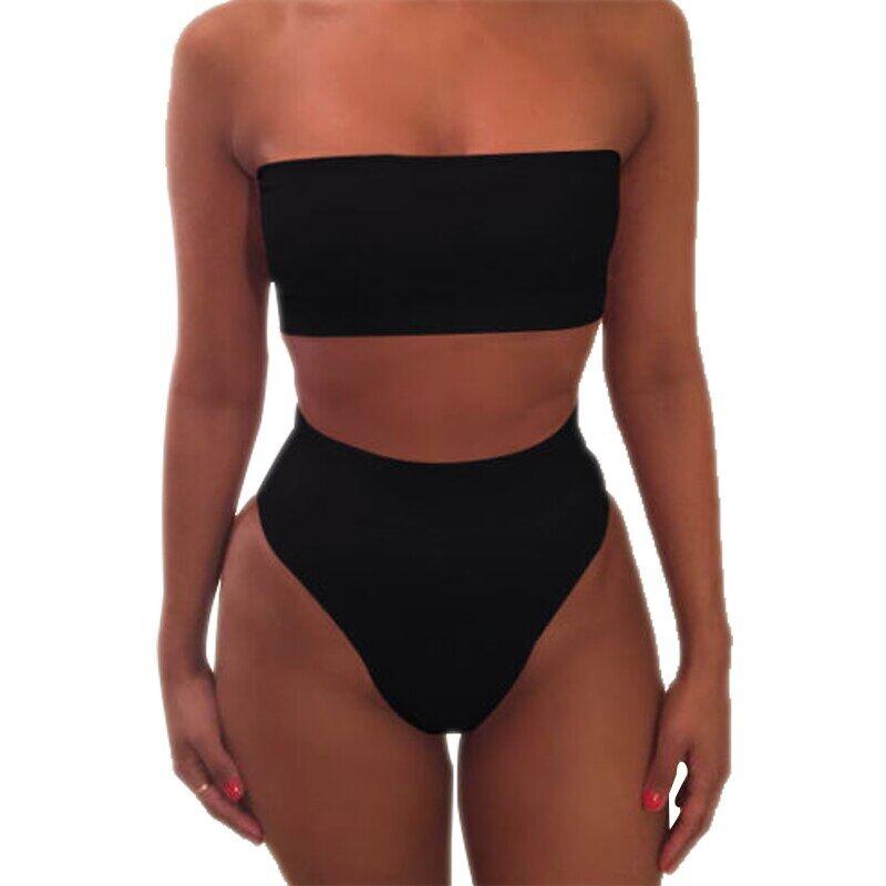 Coupon Khuyến Mại Mùa Hè Gợi Cảm Cho Nữ Mặc Bikini Bộ Đồ Bơi Nữ Push-Up Bra Eo Cao Bộ Đồ Bơi Hai Mảnh Đồ Bơi Đồ Bơi Beachwear Bộ Đồ Tắm S-XL 2PCS