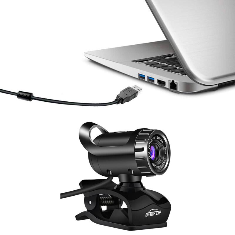 Colnes Thuận Tiện Webcam USB 2.0 480P Máy Ảnh Web Cam 360 Độ Kẹp Mic-On Đối Với PC Máy Tính Xách Tay