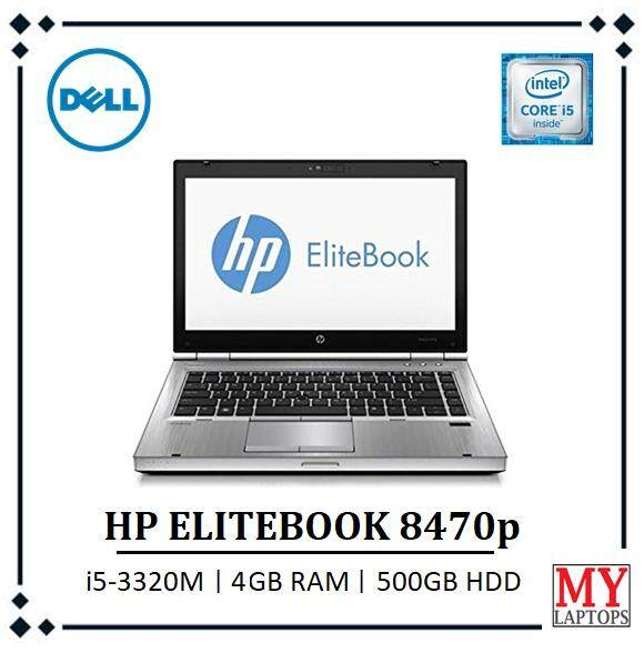 HP ELITEBOOK 8470p / i5-3rd GEN / 4GB RAM DDR3 / 500GB HDD / HEAVYDUTY LAPTOP Malaysia