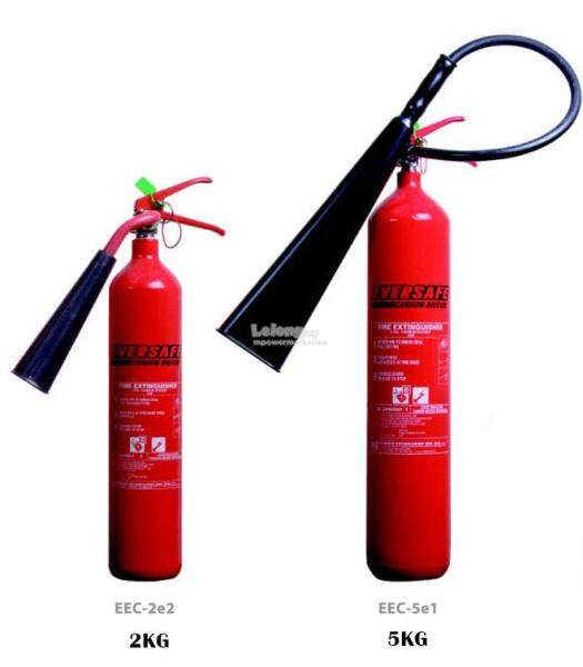 READY STOCK! CO2 FIRE EXTINGUISHER- 2KG / 5KG