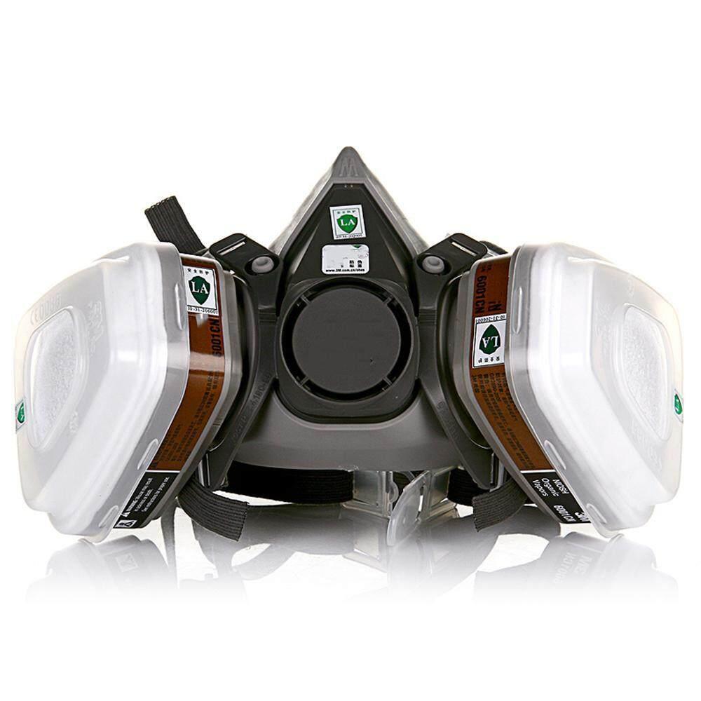 FlyUpward Half Face Painting Spraying Respirator Gas Mask - Safety Work Filter Dust Mask - Car Spray Protective Mask