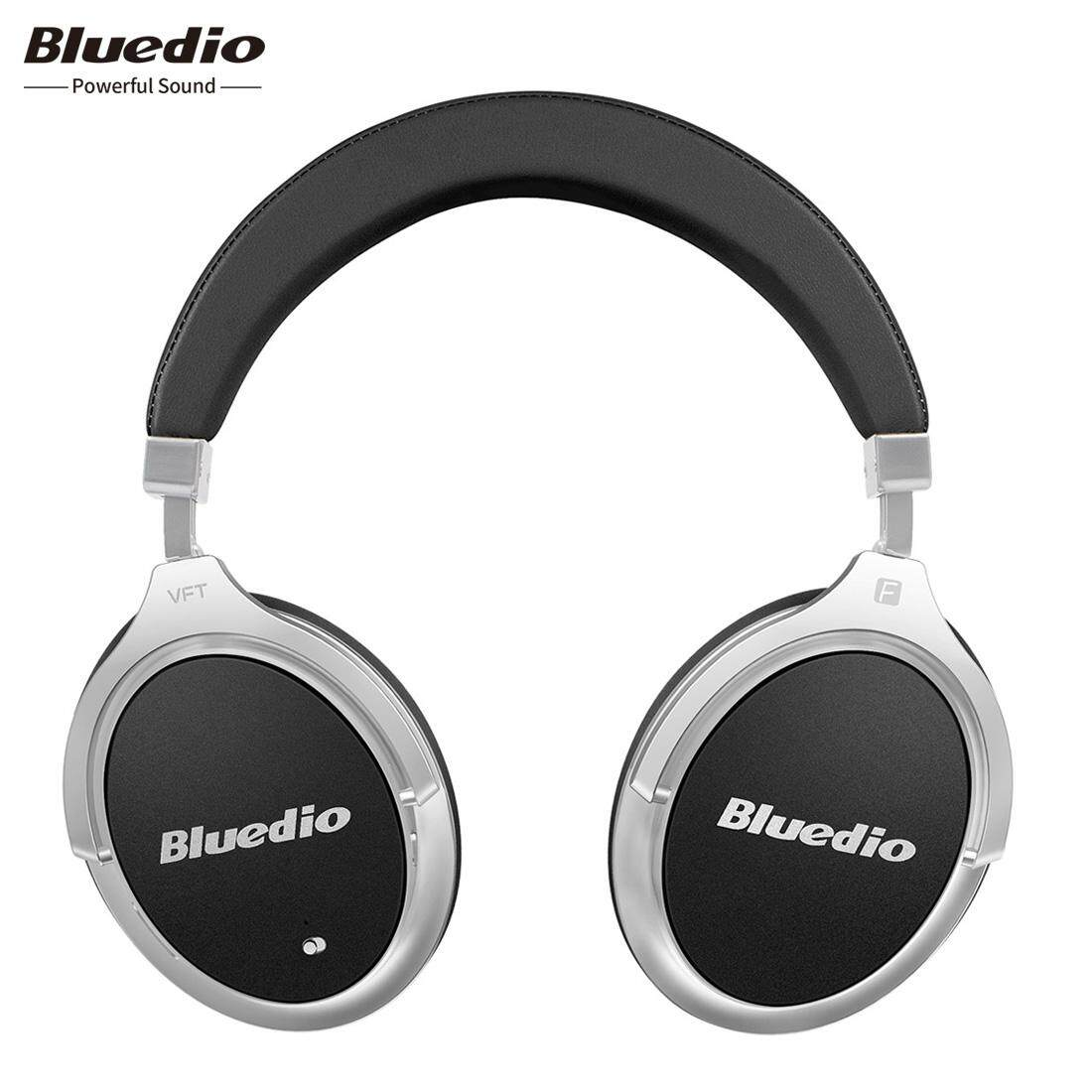 Bluedio F2 (faith) Wireless Bluetooth Headphones Active Noise Cancelling Bluetooth 4.2 Line In Over-Ear Business With Mic (black) By Bluedio Flagship Store.