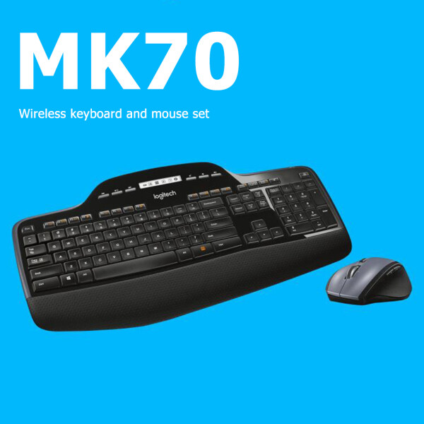 MK710 Keyboard Mouse Combs Set 2.4GHz Wireless Ergonomic Optical Mice for Logitech Accessories Singapore