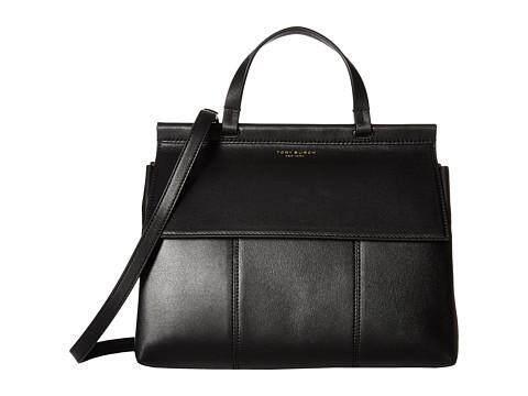 880e0579727  Pre Order  Original Tory Burch Block T Leather Top Handle Satchel