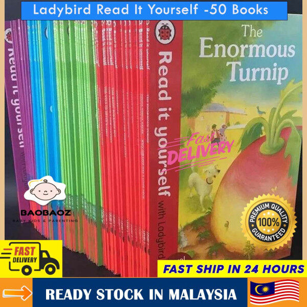 Ladybird Read It Yourself Collection (50 Books) Malaysia