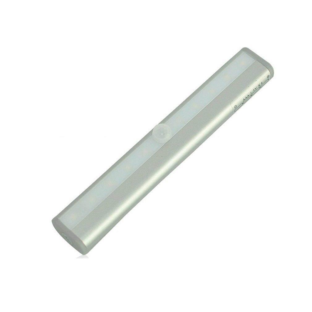 Allwin 10LED PIR Cơ Thể Cảm Biến Chuyển Động Đèn LED Đèn Ngủ Batt * ery cho Tủ Quần Áo