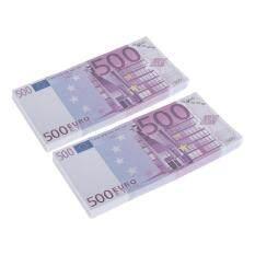 Gazechimp 200 Cái 500 Đạo Cụ Euro Chơi Vui Vẻ Giả Vờ Tiền Mặt Đạo Cụ Ma Thuật