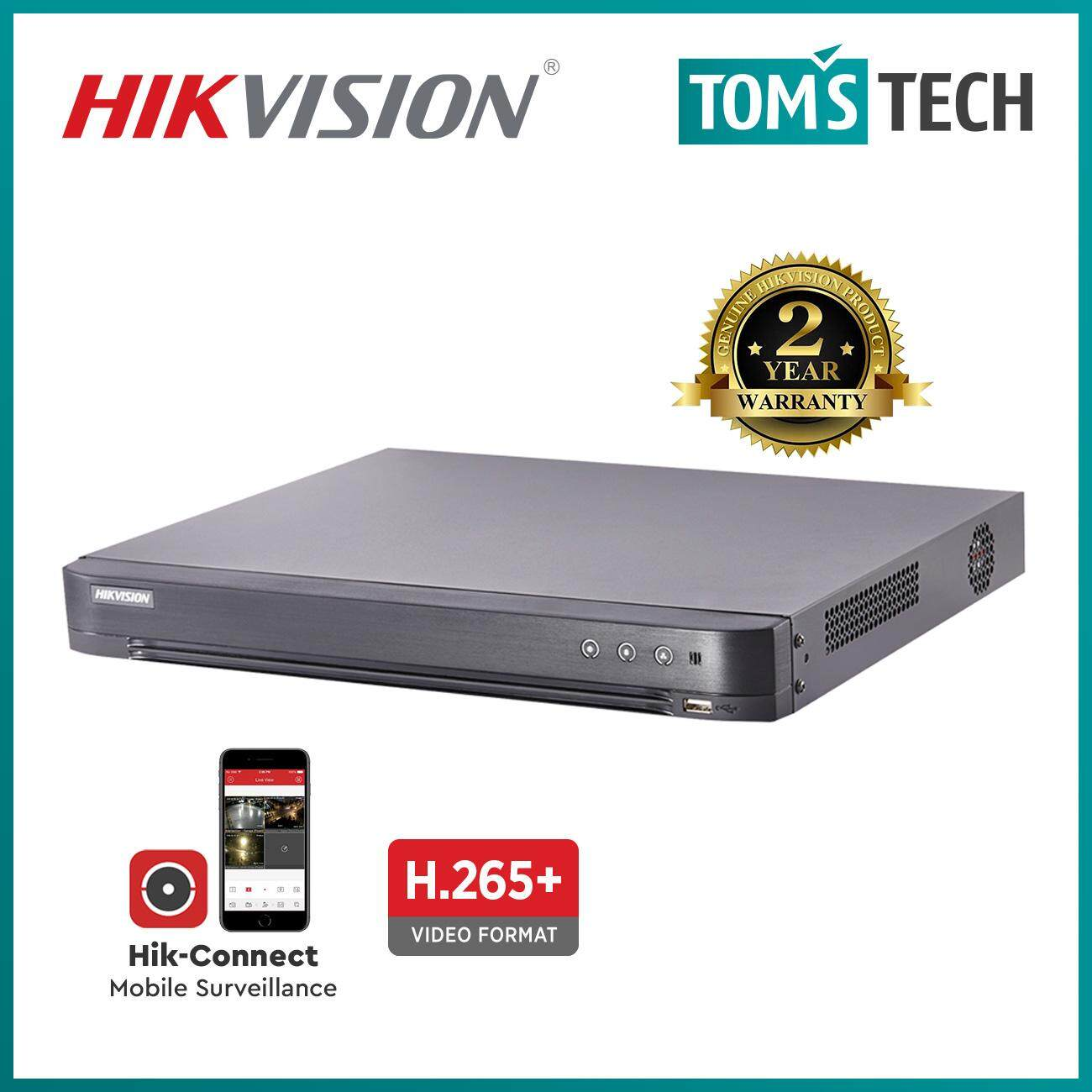 Hikvision DS-7208HQHI-K1 8CH 2MP 1080P Turbo HD 4 0 CCTV Recorder DVR -  Tomstech