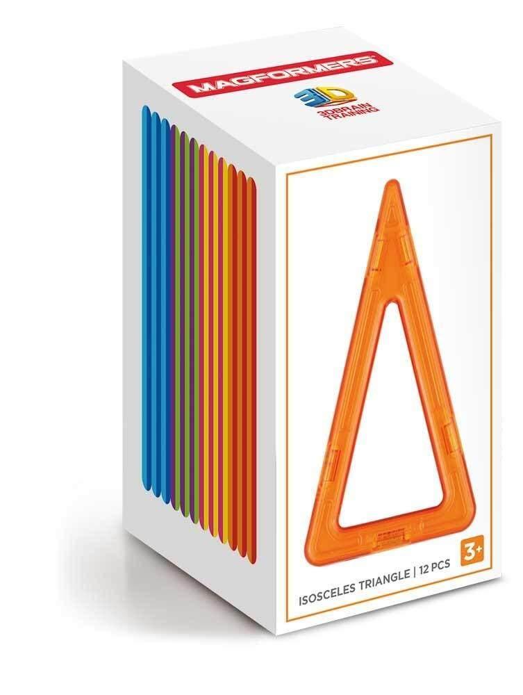 Isosceles Triangle Building Set 12 pieces Magformers Toys for boys