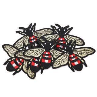 [Hàng đã sẵn sàng] [Bán nóng] Andylike 6 Cái Dễ Thương Bee Shape Thêu Patch May Vá Trang Trí DIY Quần Áo Đính thumbnail