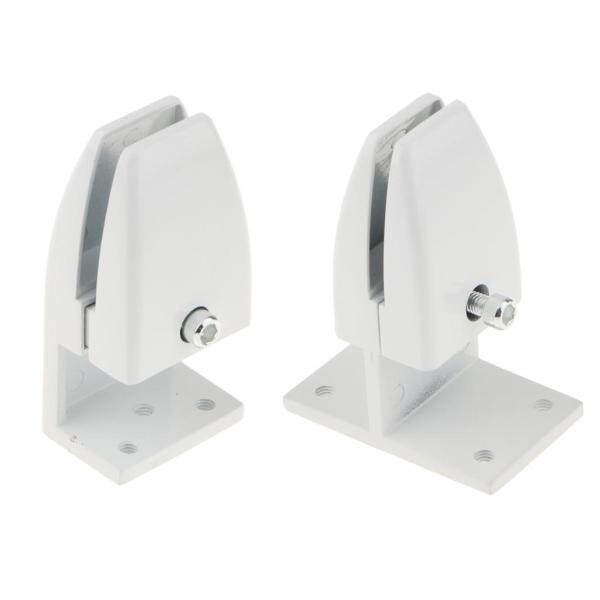 MagiDeal 2 PCS Office Partition Support Desk Divider Privacy Screen Panel Clamps Clips - 2 Sizes