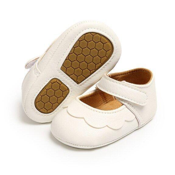 Giày Em Bé Công Chúa Đảng Trẻ Sơ Sinh Trẻ Sơ Sinh Bình Thường Comfor Lòng Bàn Chân Vải Bông Chống Trượt Tập Đi Thu Thập Thông Tin Crib Giày Da Đanh giá rẻ