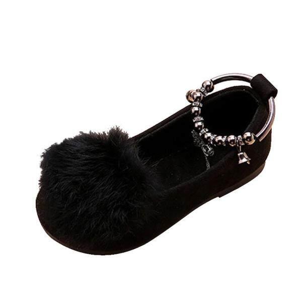Giá bán Liuyehumall Giày công chúa thắt nơ làm bằng vật liệu chất lượng cao mềm mại không gây hại cho bé gái - INTL