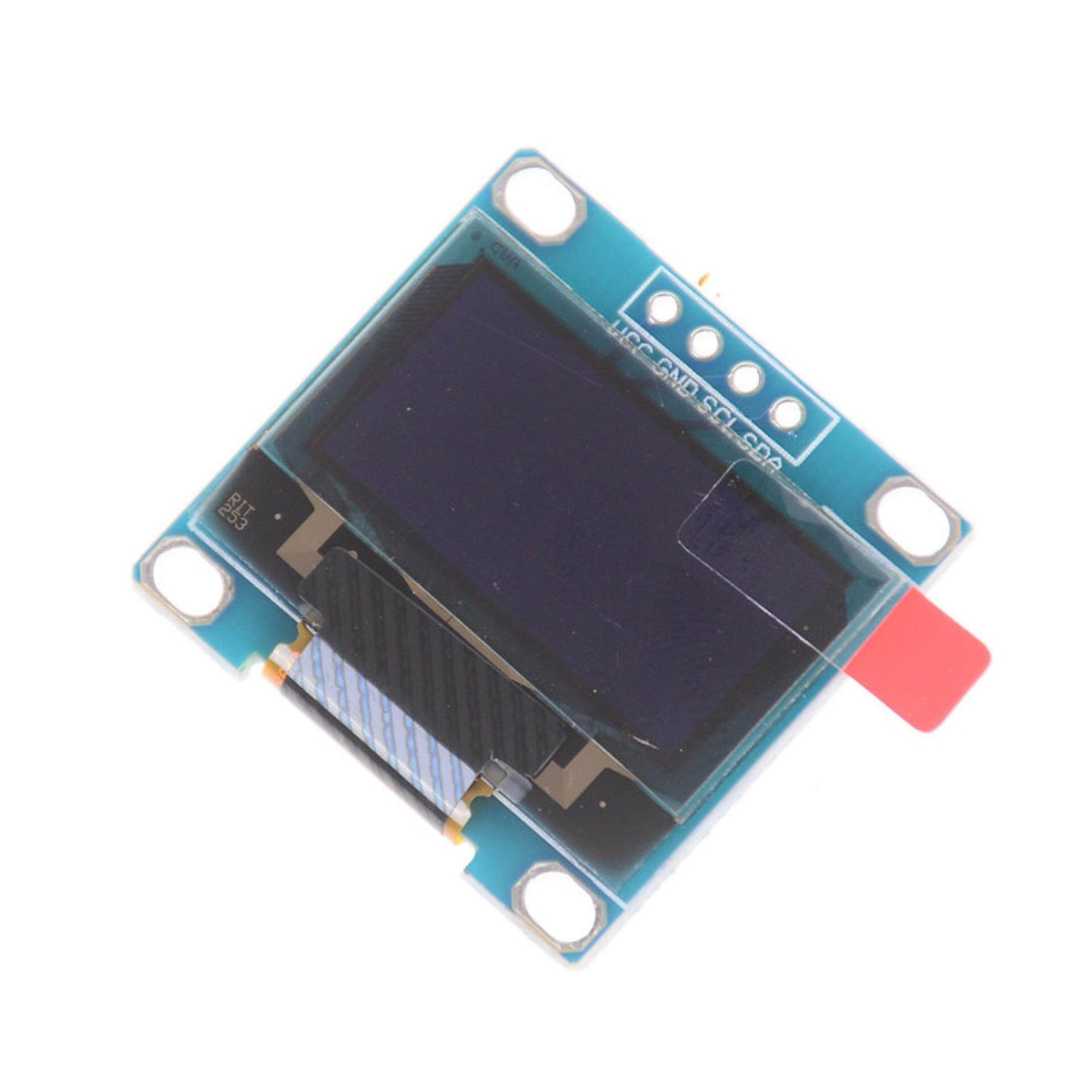 "128*64 0.96/"" I2C IIC Serial Blue OLED LCD LED Display Module for  YR"