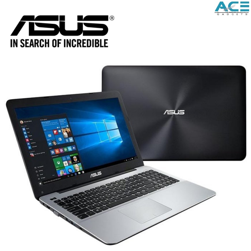 Asus X Series X555Q-GXX424T Notebook *Black* (A12-9720P/4GB DDR4/1TB HDD/R5-M430DX 2GB/15.6 HD/Win10) Malaysia