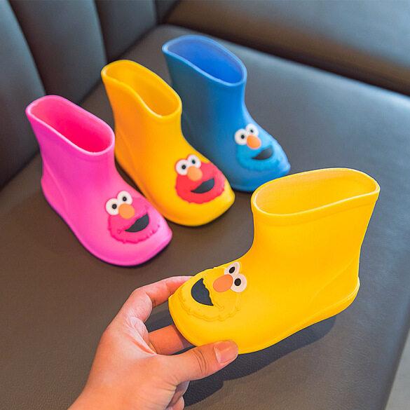 Chứng Khoán Sẵn Sàng Bốt Đi Mưa Trẻ Em Hoạt Hình, Ủng Đi Mưa Chống Trượt Giày Nước Bé Trai Bé Gái Toddler Nước Khởi Động 1-3 Năm giá rẻ