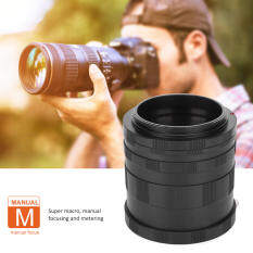 Cận cảnh Ống kính Macro chụp ảnh mở rộng ống kính cho Canon Mirrorless