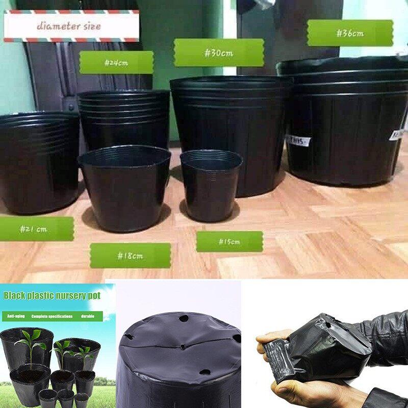 Large Medium Black Plastic