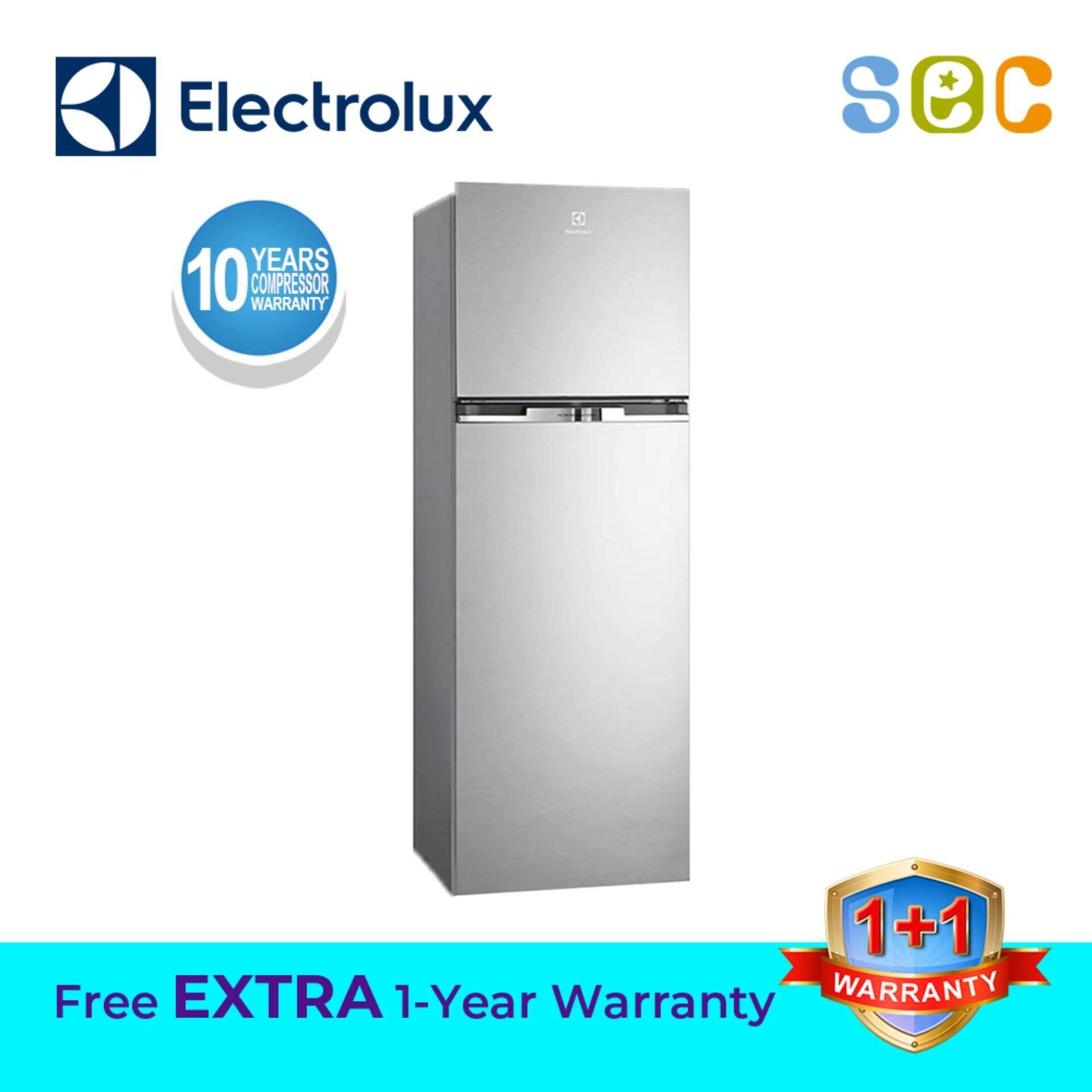 ELECTROLUX 320L NutriFresh® Inverter Top Mount Fridge ARCTIC SILVER , ETB3400H-A