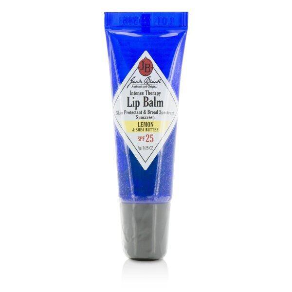 Buy JACK BLACK - Intense Therapy Lip Balm SPF 25 With Lemon & Shea Butter 7g/0.25oz Singapore