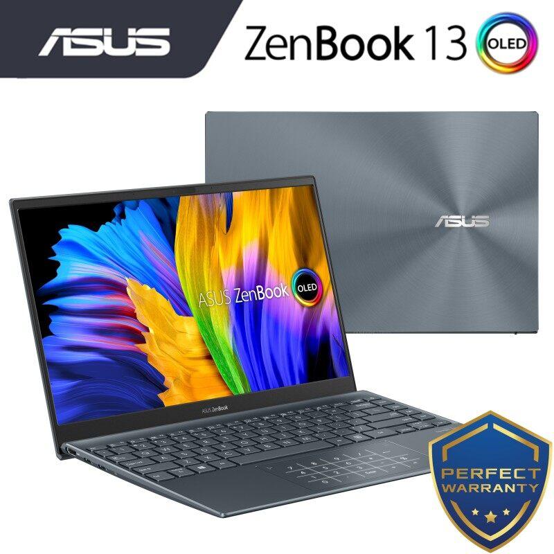 ASUS ZENBOOK 13 OLED (UX325E-AKG355TS)/ (UX325E-AKG501TS) /i5-1135G7/8GB DDR4/512GB SSD/13.3 FHD OLED/W10/2 Yrs Warranty Laptop Malaysia