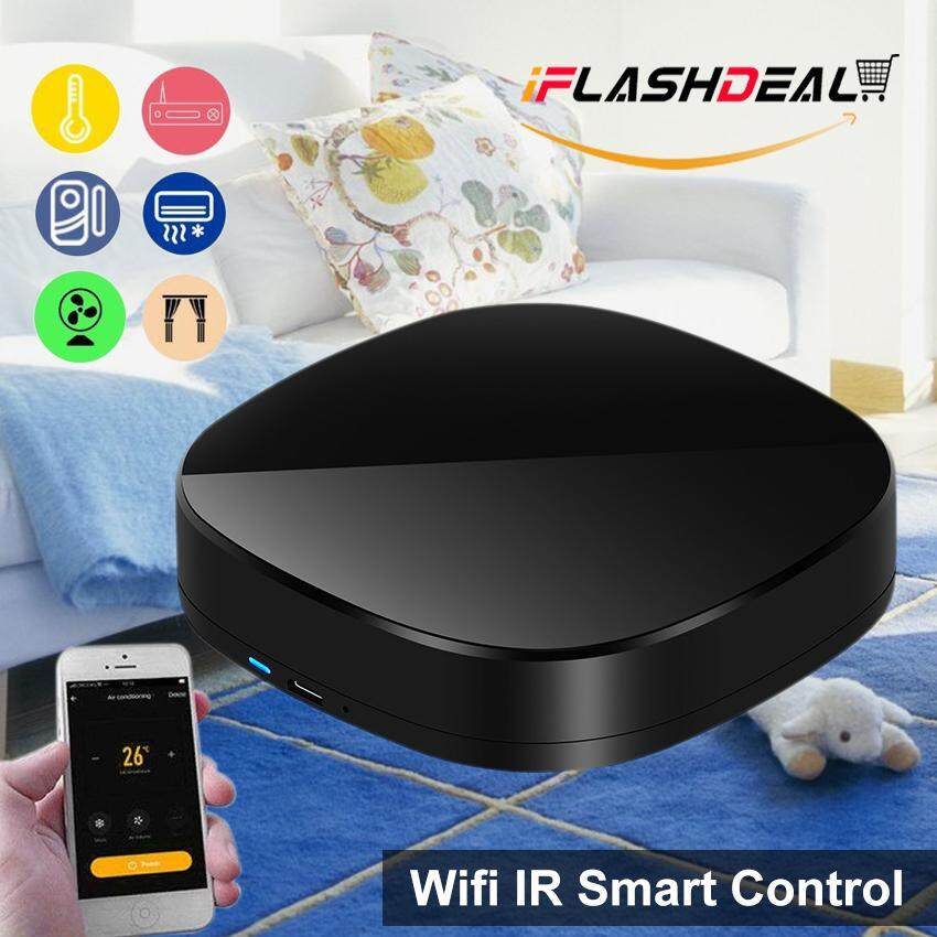 iFlashDeal Smart IR, WiFi Smart Home Control, TV Remote Controller, Make  Your Home Smart Through WiFi, Universal IR Remote Compatible with Alexa and