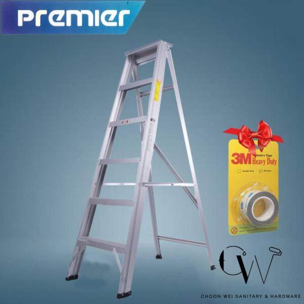 SUMO KING PREMIER Home Ladder 5 Step Single Sided Aluminium Ladder