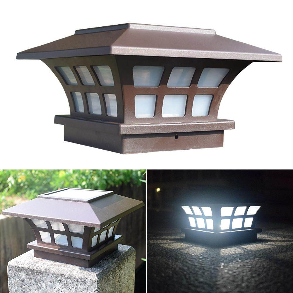 LF Solar Light Fence Light IP65 Outdoor Solar Lamp For Garden Decoration Gate Fence Wall Courtyard Cottage Solar Lamp