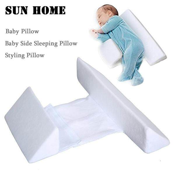 SUN HOME Baby Pillow Baby Side Sleeping Pillow Styling Pillow Anti-head Washable Waist Baby Pillow Anti-spitting Milk