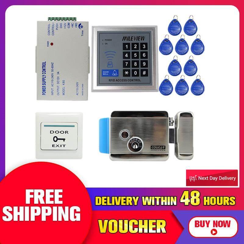 【Free Vận Chuyển + Đèn Flash Đối Phó 】RFID Cửa Điều Khiển Truy Cập Hệ Thống Bộ Bộ Điều Khiển Điện Cửa MỚI