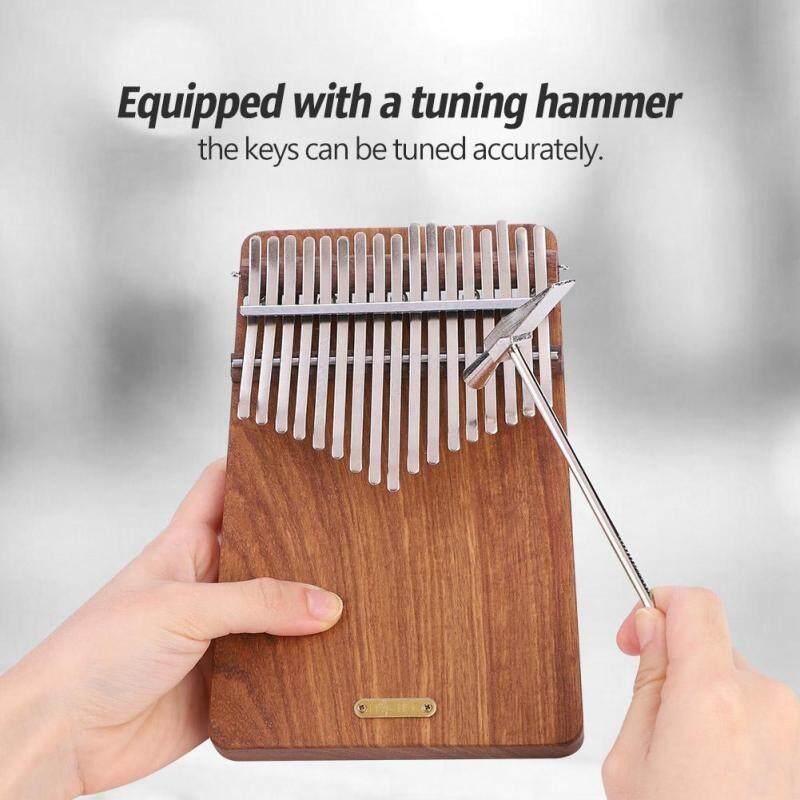 LINGTING 17-Key B Major Kalimba Portable Thumb Piano Pterocarpus Erinaceus Wooden Body Malaysia