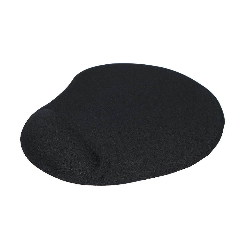 Silicone Mouse Pad Soft Gel Mouse Mat with Wrist Rest Support Comfort Mousepad for PC Laptop(Black) Malaysia