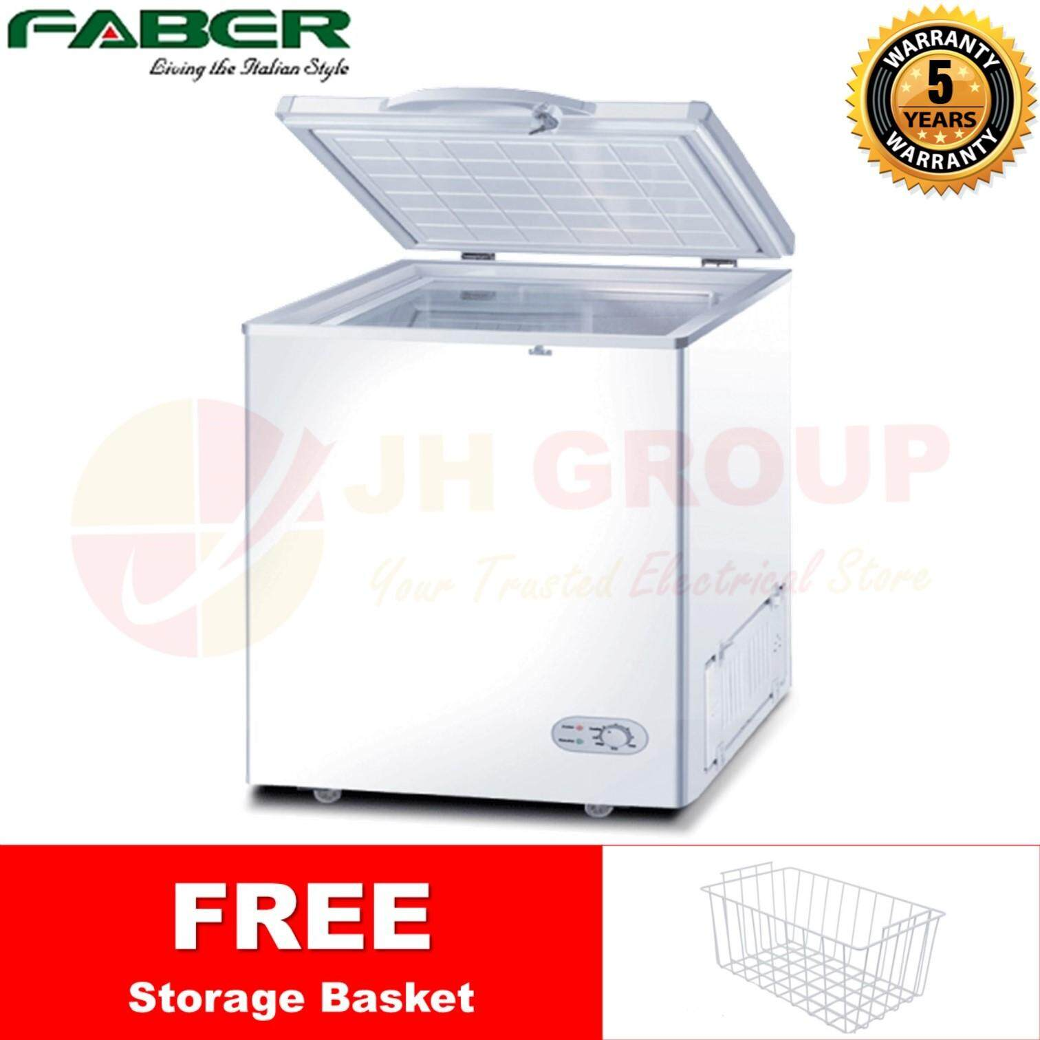 (AUTHORISED DEALER) FABER FZ-F228(N) 200L DUO FUNCTION CHEST FREEZER / FRIDGE REFRIGERATOR