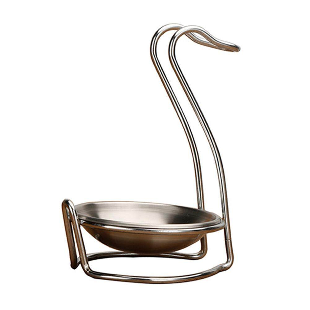 2pcs Stainless Steel Spoon Rack Swan-Shaped Hot Pot Spoon Stainless Steel Bowl By Gotoco Mall.