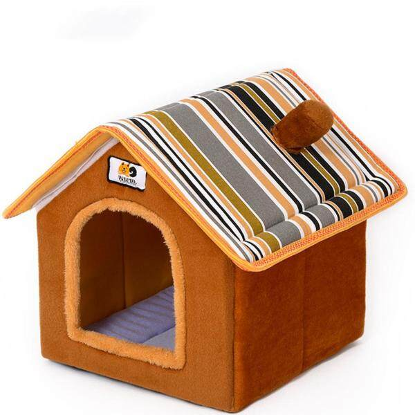 Có Thể Tháo Rời Có Thể Rửa Hình Dạng Ngôi Nhà Ổ Cho Thú Cưng Cho Chó Mèo Chó Con Ngủ Đặc Điểm Kỹ Thuật: S