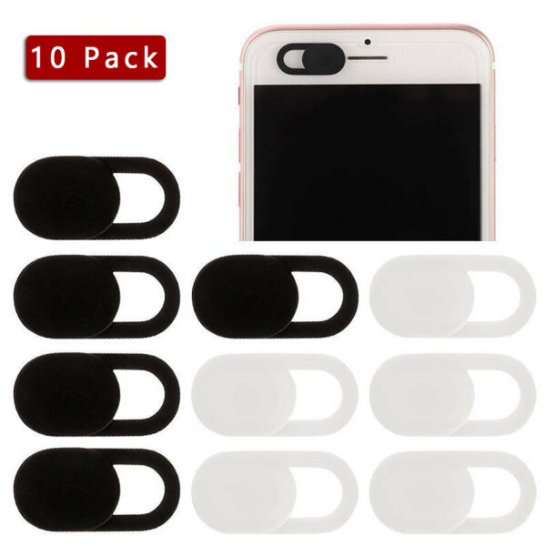 Hozzby 10pcs/set WebCam Cover Slide Web Camera Privacy Security Protect for Phone MacBook Laptop